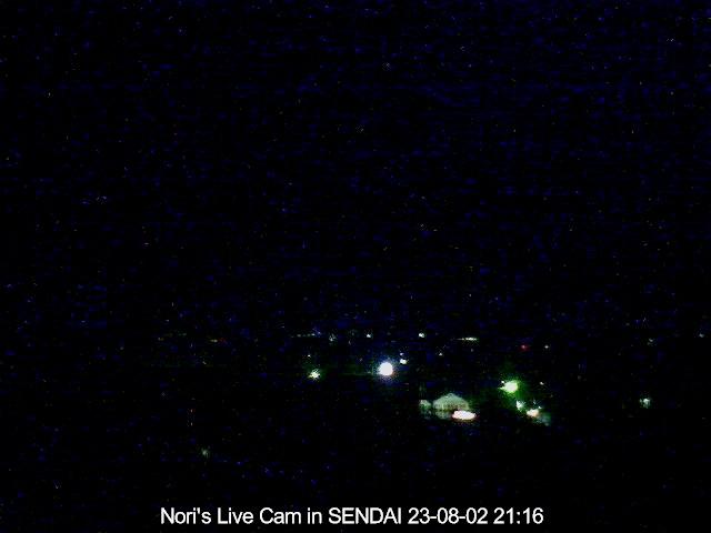 仙台市泉区〜北北西方向の空